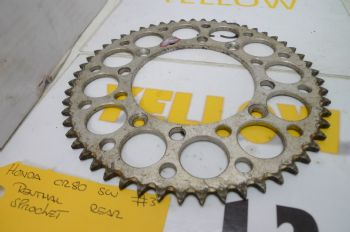 HONDA CR80 BIG WHEEL     RENTHAL REAR SPROCKET 1890 420 55T 0128. #3 (CON-A)